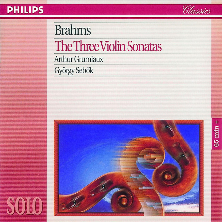 Brahms: The Three Violin Sonatas 0028944657027