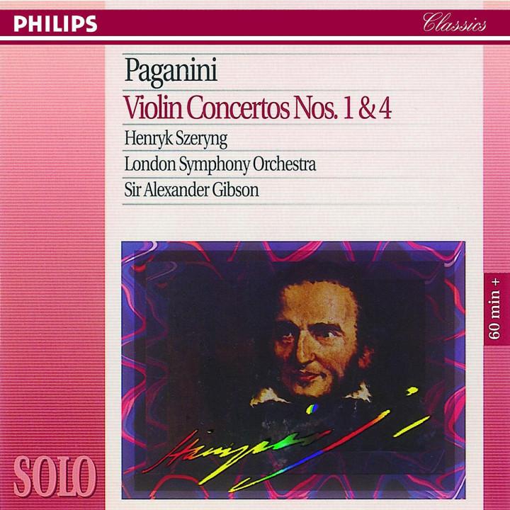 Violinkonzerte Nr. 1 & Nr. 4 0028944657223