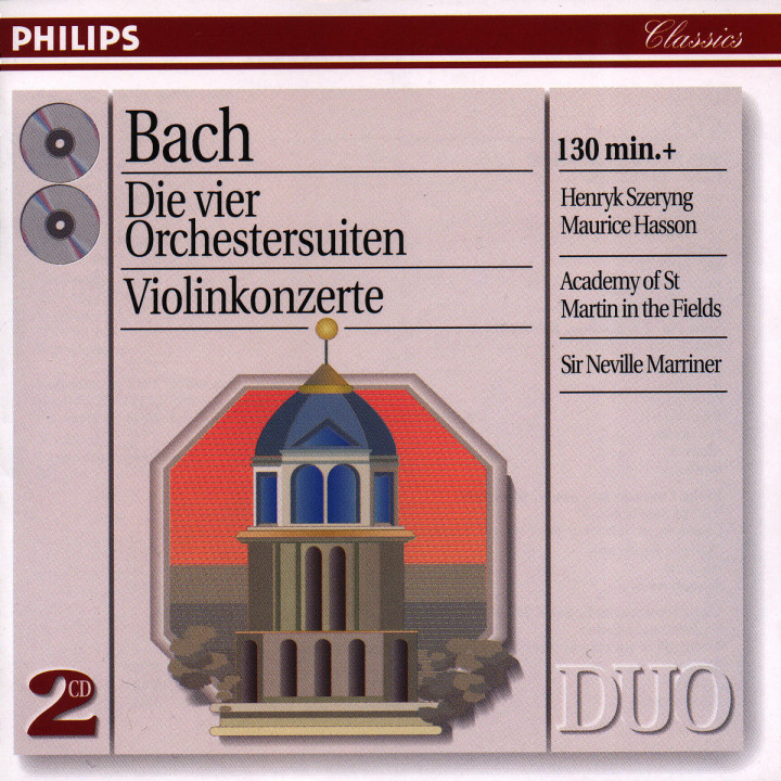 Bach, J.S.: The 4 Orchestral Suites/The Violin Concertos 0028944653322
