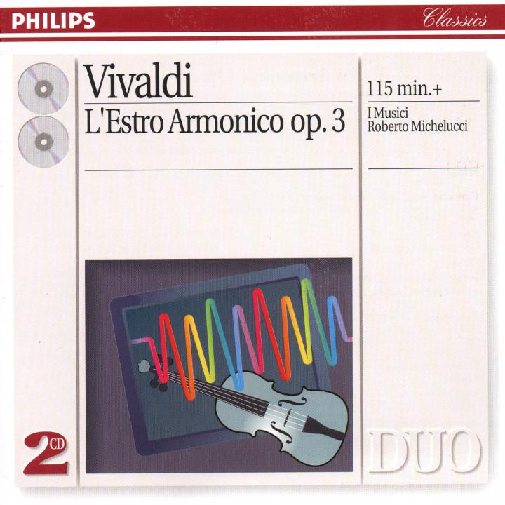 Vivaldi: L'Estro Armonico, Op.3 0028944616921
