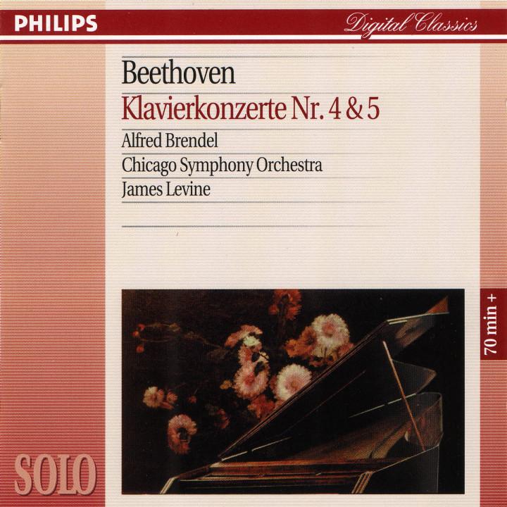 """Beethoven: Piano Concertos Nos.4 & 5 """"Emperor"""" 0028944619326"""