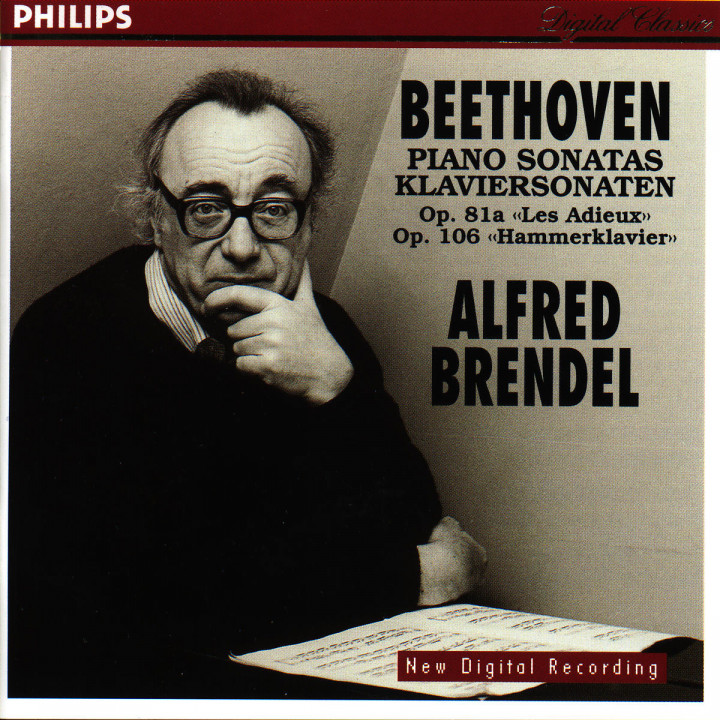 """Klaviersonaten Nr. 26 Es-dur op. 81a & Nr. 29 B-dur op. 106 """"Hammerklavier"""" 0028944609323"""
