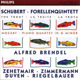 Thomas Zehetmair, Schubert: Forellenquintett / Mozart: Piano Quartet in G minor, 00028944600124