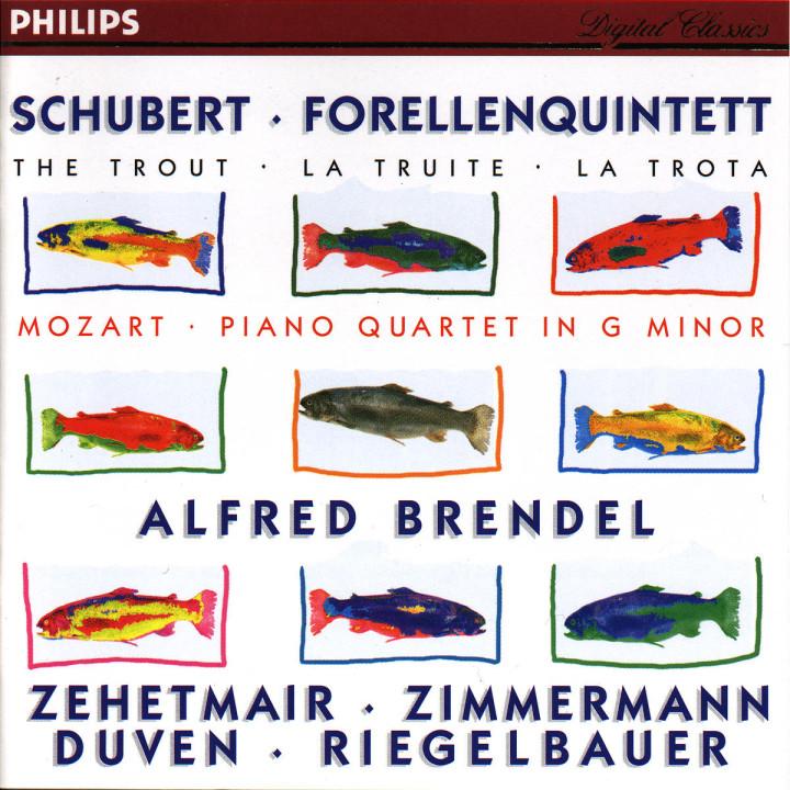 Schubert: Forellenquintett / Mozart: Piano Quartet in G minor 0028944600128