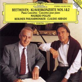 Ludwig van Beethoven, Klavierkonzerte Nr. 1 C-dur op. 15 & Nr. 2 B-dur op. 19, 00028944585223