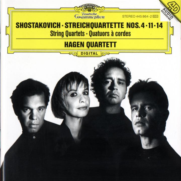 Streichquartette D-dur op. 83; f-moll op. 122; Fis-dur op. 142 0028944586426
