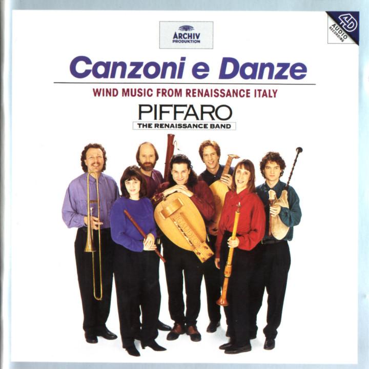 Canzoni e Danze 0028944588325