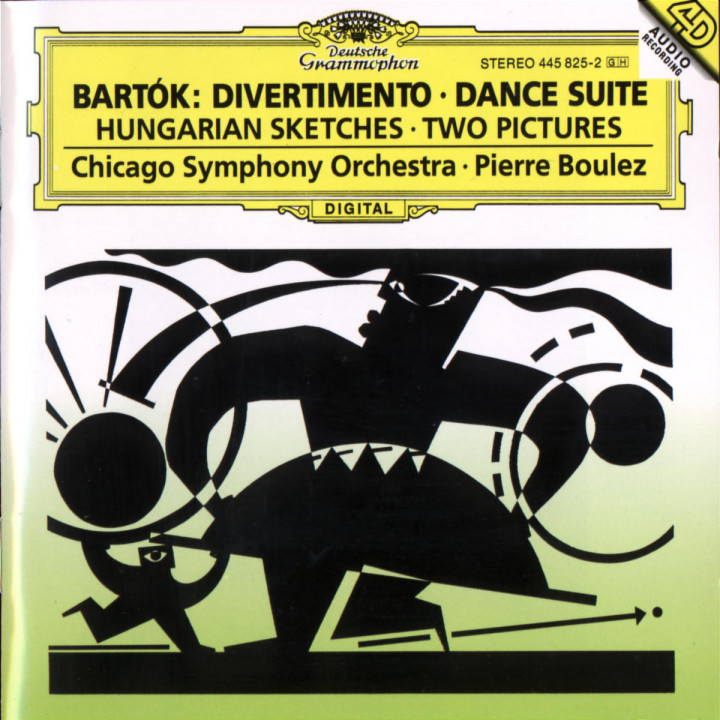 Bartók: Divertimento; Dance Suite 0028944582525