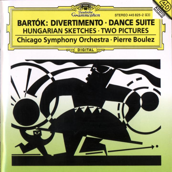 Bartók: Divertimento; Dance Suite 0028944582525