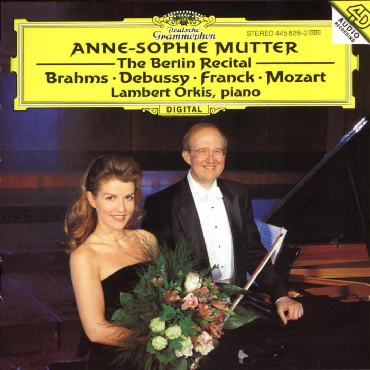 Anne-Sopie Mutter - The Berlin Recital 0028944582628