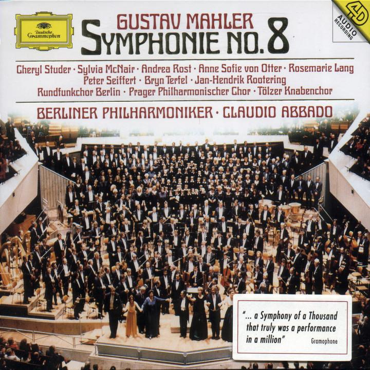 """Sinfonie Nr. 8 Es-dur """"Sinfonie der Tausend"""" 0028944584321"""