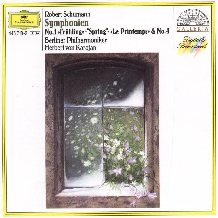 """Sinfonien Nr. 1 B-dur op. 38 """"Frühling"""" & Nr. 4 d-moll op. 120 0028944571820"""