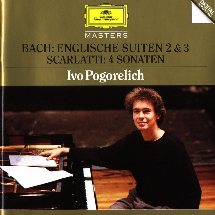 Bach, J.S.: English Suites No.2 & 3 / Scarlatti: 4 Sonatas 0028944557325