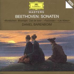 Ludwig van Beethoven, Klaviersonaten Nr. 13 Es-dur, Nr. 14 cis-moll, Nr. 15 D-dur, Nr. 26 Es-dur, 00028944559323