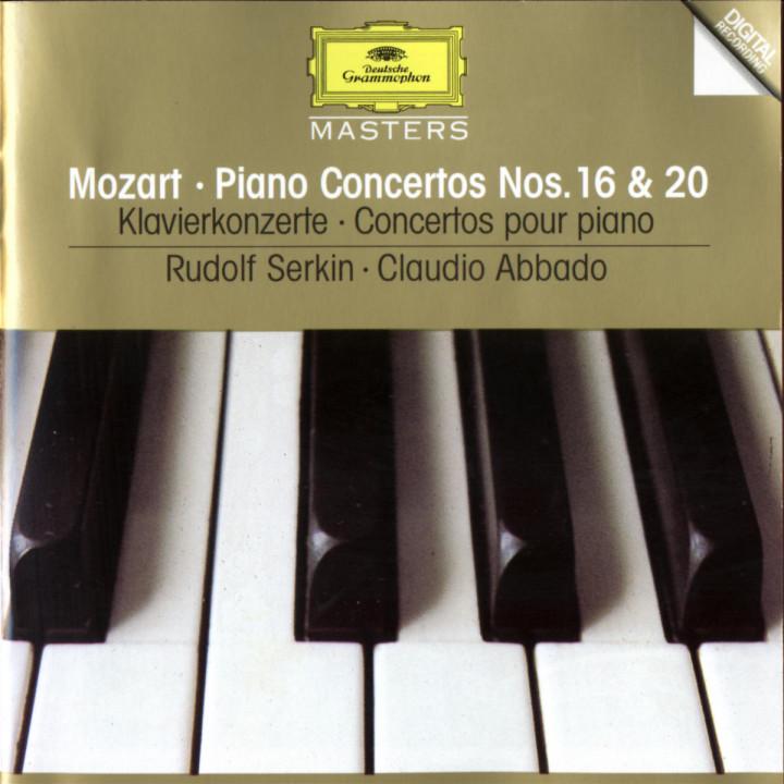 Mozart: Piano Concertos Nos.16 & 20 0028944559729