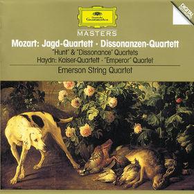 Wolfgang Amadeus Mozart, Mozart, W.A.: String Quartets K. 458 Hunt, K. 465 Dissonance / Haydn, J.: String Quartet, Op.76, 00028944559828