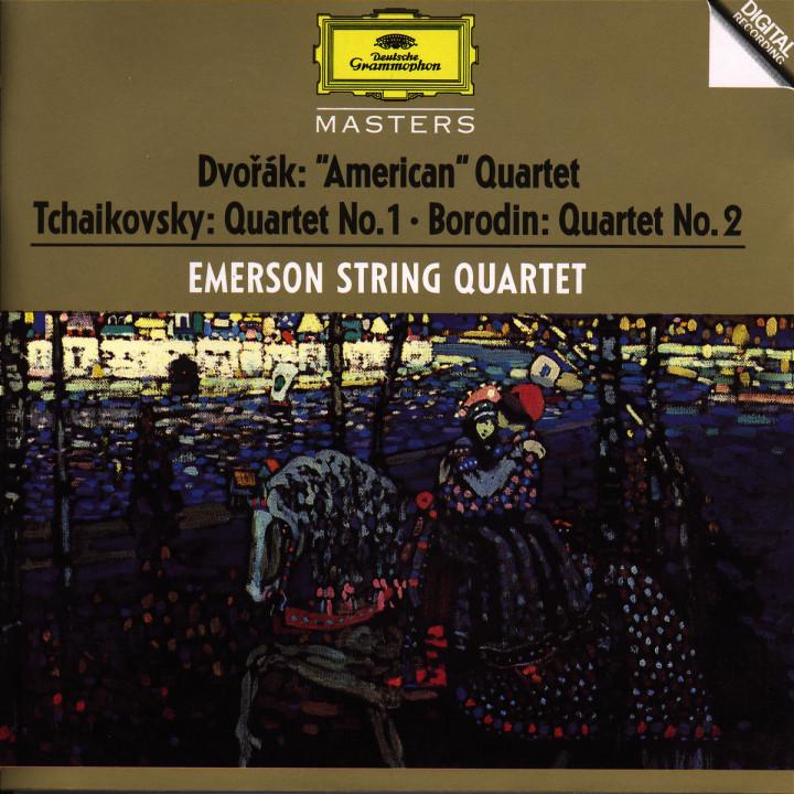 Dvorák / Tchaikovsky / Borodin: String Quartets 0028944555127