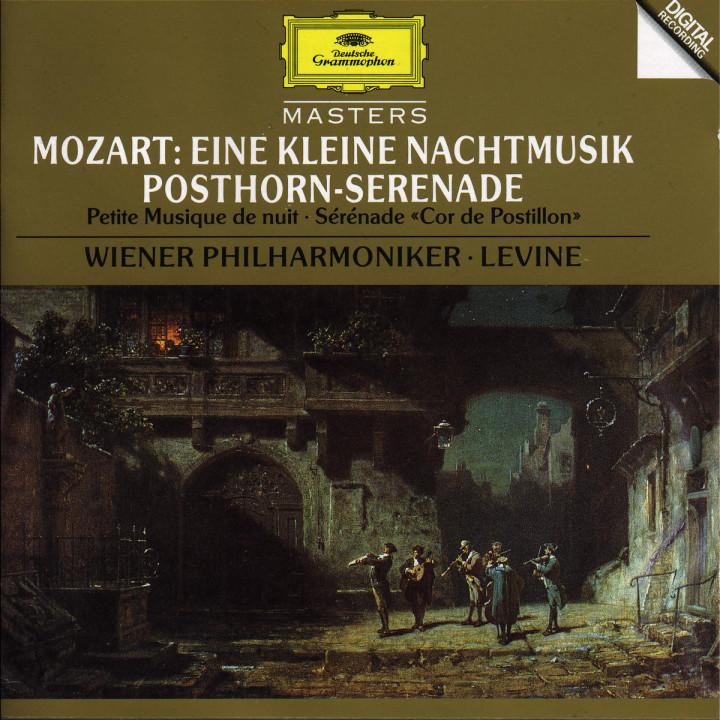 "Mozart: Eine kleine Nachtmusik, K. 525; Symphony No. 32 (Overture), K. 318; Serenade K. 320 ""Postho 0028944555529"