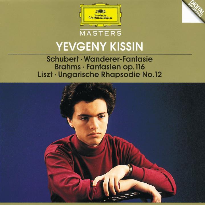 """Schubert: """"Wanderer"""" Fantasia / Brahms: Fantasien op.116 / Liszt: Hungarian Rhapsody No.12 0028944556221"""