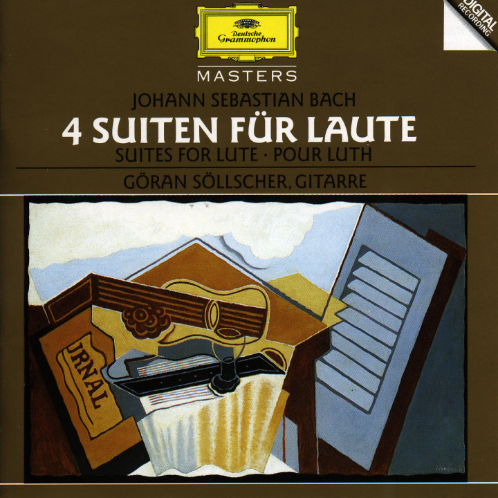 Bach, J.S.: Suites for Lute 0028944556324