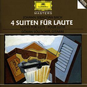 Johann Sebastian Bach, Bach, J.S.: Suites for Lute, 00028944556322