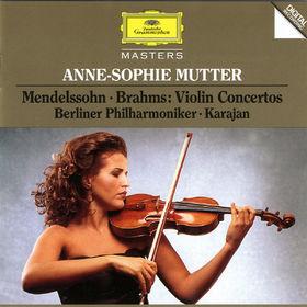 Anne-Sophie Mutter, Mendelssohn / Brahms: Violin Concertos, 00028944551525