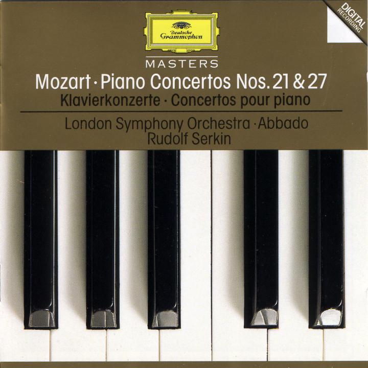 Mozart: Piano Concertos Nos.21 K.467 & 27 K.595 0028944551628