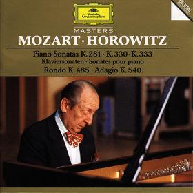 Wolfgang Amadeus Mozart, Mozart: Piano Sonatas K.281, K.330 & K.333, Rondo K.485, Adagio K.540, 00028944551723