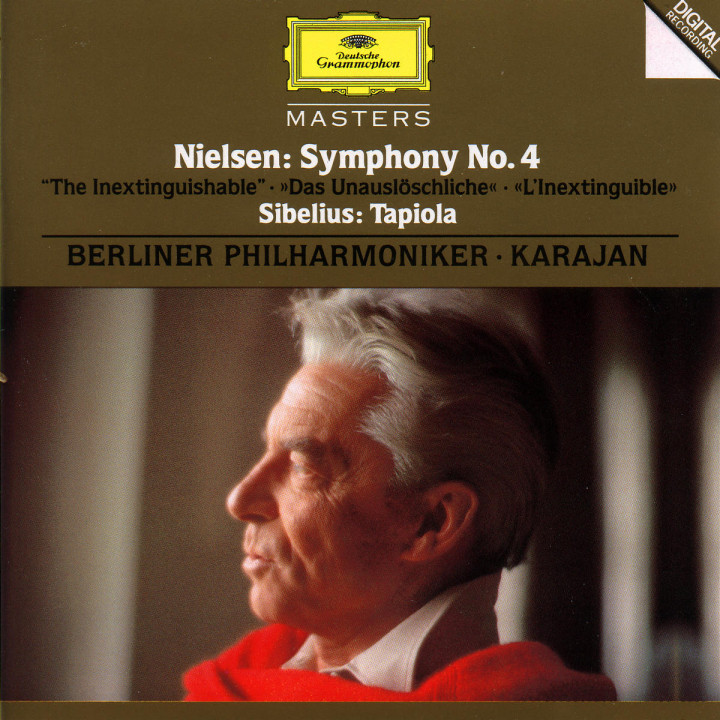 """Tapiola op. 112; Sinfonie Nr. 4 op. 29 """"Das Unauslöschliche"""" 0028944551824"""