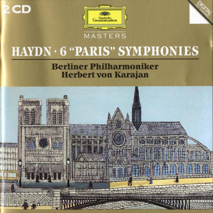 """Haydn, J.: 6 """"Paris"""" Symphonies 0028944553228"""