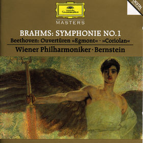 Johannes Brahms, Brahms: Symphony No.1 / Beethoven: Overtures Egmont & Coriolan, 00028944550528