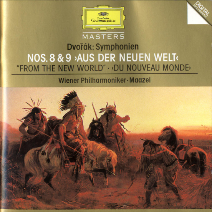 "Dvorák: Symphonies Nos.8 & 9 ""From The New World"" 0028944551020"