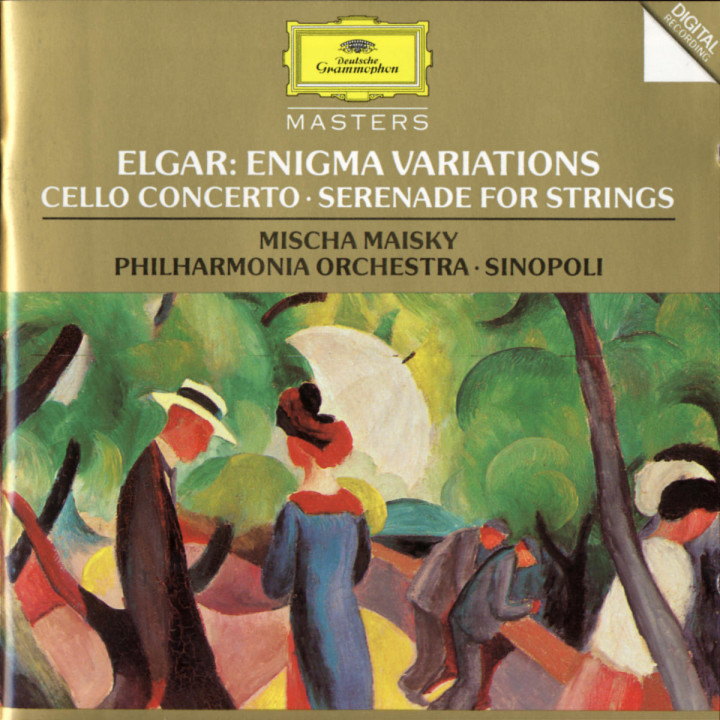 Elgar: Enigma Variations; Cello Concerto; Serenade For Strings 0028944551123
