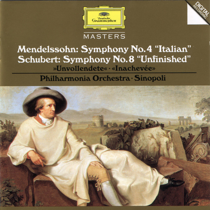 "Schubert: Symphony No.8 in B Minor D759 ""Unfinished"" / Mendelssohn: Symphony No.4 in A Major op.90 0028944551422"