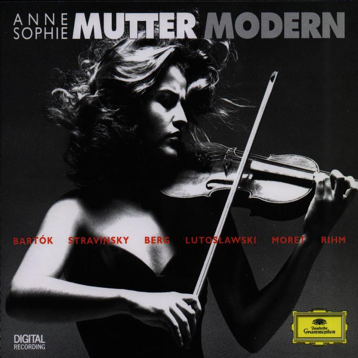 Mutter Modern - Werke für Violine & Orchester 0028944548725