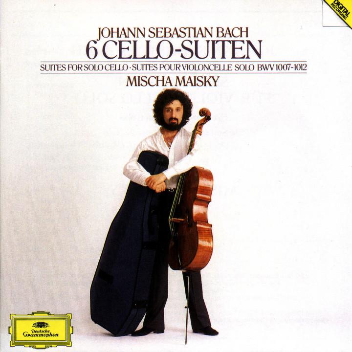 6 Violoncello-Suiten BWV 1007-1012 0028944537329