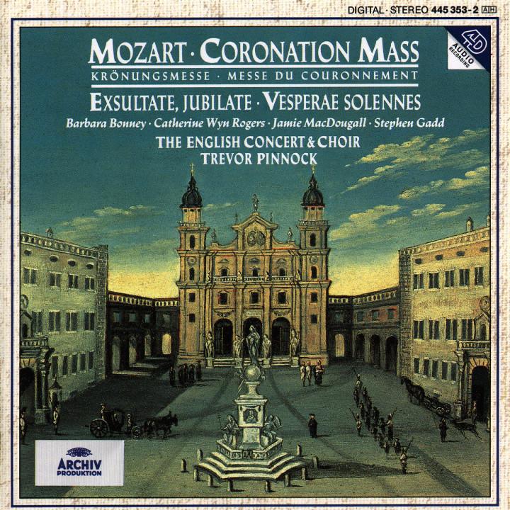 Mozart: Coronation Mass ; Exsultate, jubilate; Vesperae Solennes 0028944535327