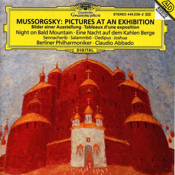 Mussorgsky: Pictures at an Exhibition; Night on Bald Mountain; Sennacherib; Salammbô; Oedipus; Josh 0028944523827