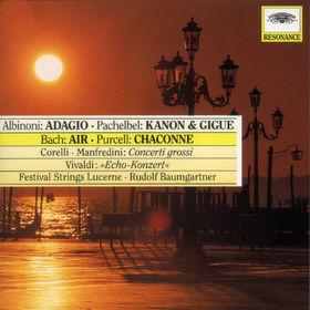 Johann Pachelbel, Adagio; Kanon&Gigue; Air; Echo-Konzert, 00028944502725