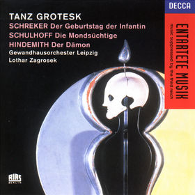 Paul Hindemith, Schreker/Schulhoff/Hindemith: Tanz Grotesk, 00028944418224