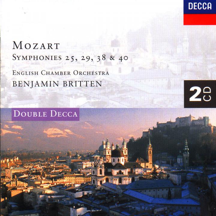 """SInfonien Nr. 25 g-moll; Nr. 29 A-dur; Nr. 38 D-dur """"Prager""""; Nr. 40 g-moll; Serenade Nr. 6 D-dur 0028944432323"""