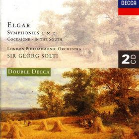 Sir Georg Solti, Cockaigne op. 40 (Konzertouvertüre), In The South op. 50: Ouvertüre (Alassio), Sinfonie Nr. 1 As-dur, 00028944385625