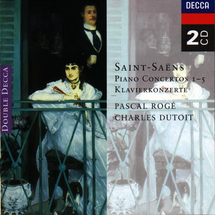 Saint-Saëns: Piano Concertos Nos. 1-5 0028944386527