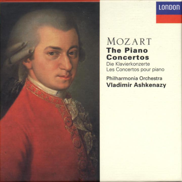 Mozart: The Piano Concertos 0028944372726