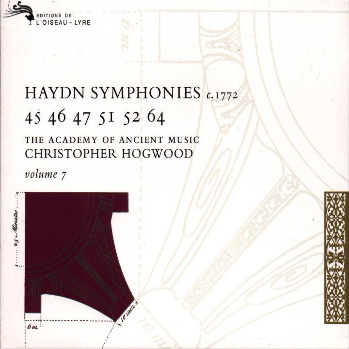 Haydn: Symphonies Vol.7 0028944377721