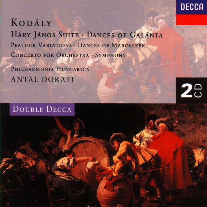 Kodály: Háry János Suite/Dances of Galánta/Peacock Variations, etc. 0028944300620