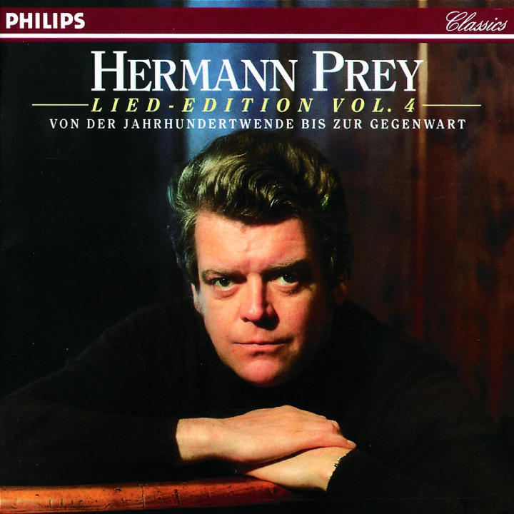 Lied-Edition - Von der Jahrhundertwende bis zur Gegenwart (Vol. 4) 0028944270620