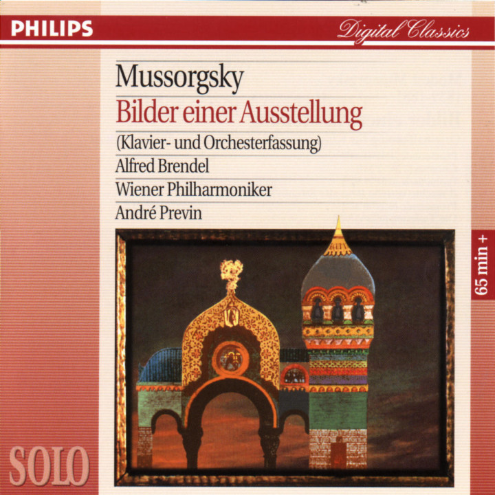 Mussorgsky: Pictures at an Exhibition (Piano & Orchestral versions) 0028944265024