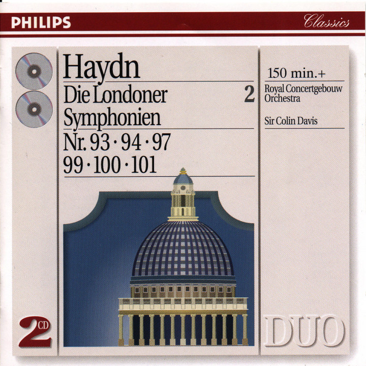 Haydn: The London Symphonies - Nos. 93, 94, 97 & 99 - 101 0028944261422