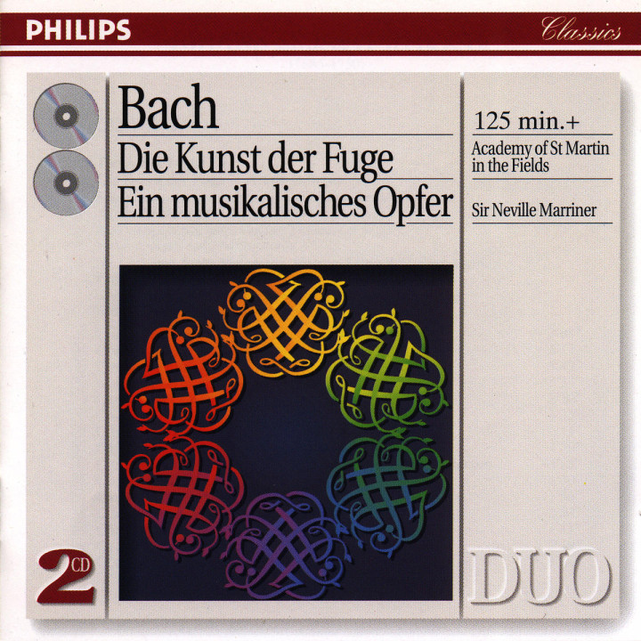 Bach, J.S.: The Art of Fugue; A Musical Offering 0028944255629